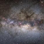 Milchstraße 2004 / Namibia, Analog-SLR, 50mm-Objektiv, Kodak Diafilm / M. Dähne