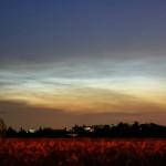 Leuchtende Nachtwolken 14.7.2009 / Canon Eos 350d / M. Dähne