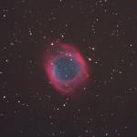Helixnebel (NGC7293) / 23.9.2014 / Geiersberg (bei Hauzenberg), TMB 15cm-Apochromat f/7.9, Canon Eos 1000d, ISO400, 4x15 Min. / F. Steimer