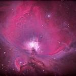 Orionnebel (M42/43) / 23.12.2014 / 45cm-Newton-Teleskop f/3.8, Canon Eos 600Da, ISO800, 10x3 Min., 10x7 Sek. / R. Klemm