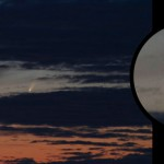 C/2006P1 McNaught / 10.1.2007 / DSLR, 300mm-Objektiv / G. Hackner