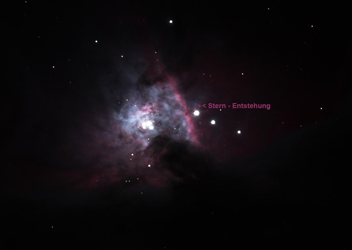 Orionnebel (M42) / 28.11.2016 / F. Steimer