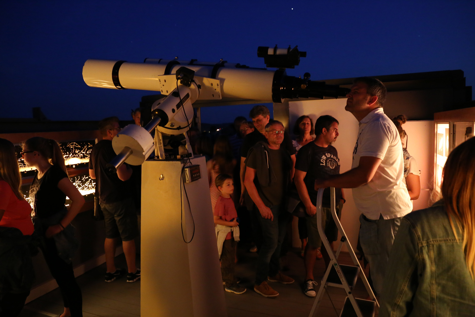 Die totale Mondfinsternis vom 27.7.18 – Sternwarte Passau