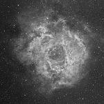Rosettennebel (NGC2237-46) / 16.11.2018 / Refraktor 72/330mm, ASI1600MMC, H-Alpha-Filter, 120 Min. / F. Steimer
