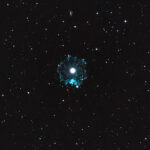 2020-05-06und17 / NGC6543 (Katzenaugennebel) / TMB152 900mm F5,9 - Filter Ha+OIII - ASI1600MMC - 8 Stunden / F.Steimer