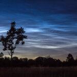 Leuchtende Nachtwolken / 5.7.2020 / Unterhaching, Canon Eos 600d, 17-50mm-Objektiv / M. Dähne