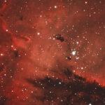 2020-11-21 / NGC281 (Pacman-Nebel) / TMB152 960mm F6,3 - Ha/Hb/OIII-Filter - ASI533MC - 5,4 Stunden / F.Steimer