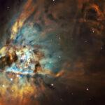 2020-11-28 / M42 (Großer Orionnebel) / CFF165 F7,9 1310mm / Filter: Ha/OIII/SII - ASI294M - 135min / F.Steimer
