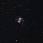 2020-11-28 / M76 (Kleiner Hantelnebel) / CFF165 1310mm F7,9 - Filter: Ha/OIII - ASI294MM - 90min / F.Steimer
