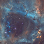 2021-03-02 / NGC2238 (Rosettennebel) / CFF165 980mm F5,9 - Filter SHO - ASI294MM - 140min / F.Steimer