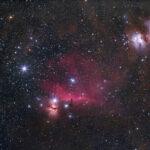 2021-03-06 / Nebel im Orion / Canon EF 200mm F2.8 - Canon EOS6Da / M. Dähne
