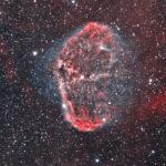 2021-06-16 / NGC6888 (Sichel-Nebel) / CFF165 980mm F5,9 - ASI294MM - Filter HO - 120min / F.Steimer