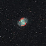 2021-09-08 / M27 (Hantel-Nebel) / Starfire180 1250mm F7 - Filter HO - ASI2600MC - 60min / F.Steimer